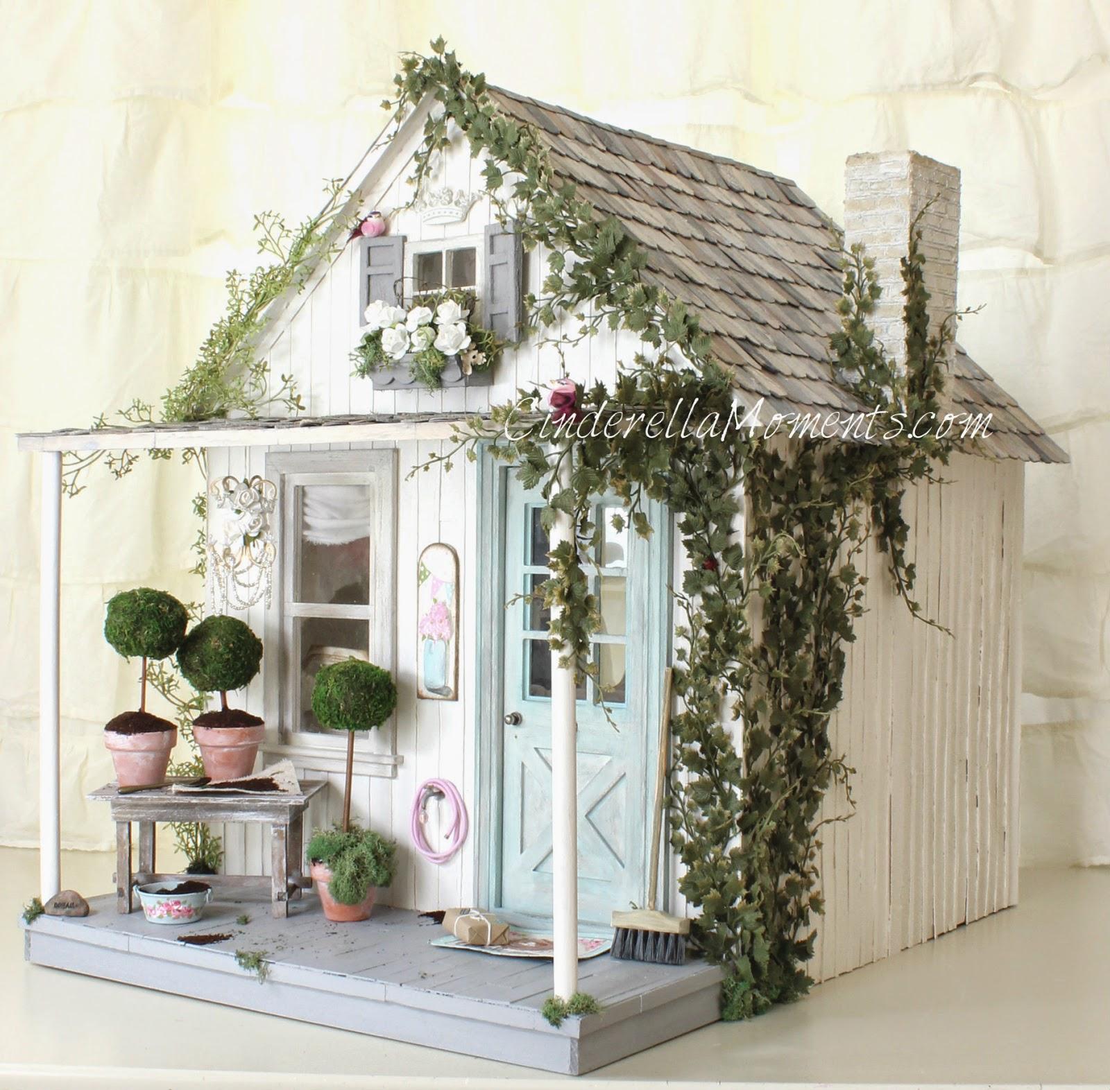 Cinderella Moments: Shabby Blythe Custom Dollhouse