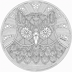abstract coloring pages - Challenging Dragon Coloring Pages