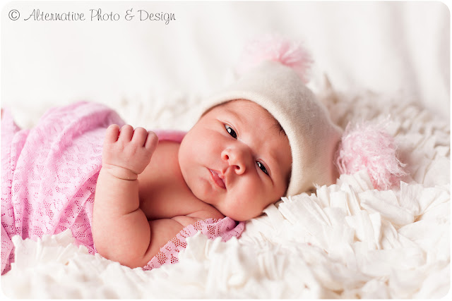 Sweet & Beautiful Baby {A} | Newborn Photographer Janesville, WI