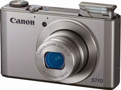 Buy Canon Powershot S110 12.1MP Digital Camera  – Rs.17996 only