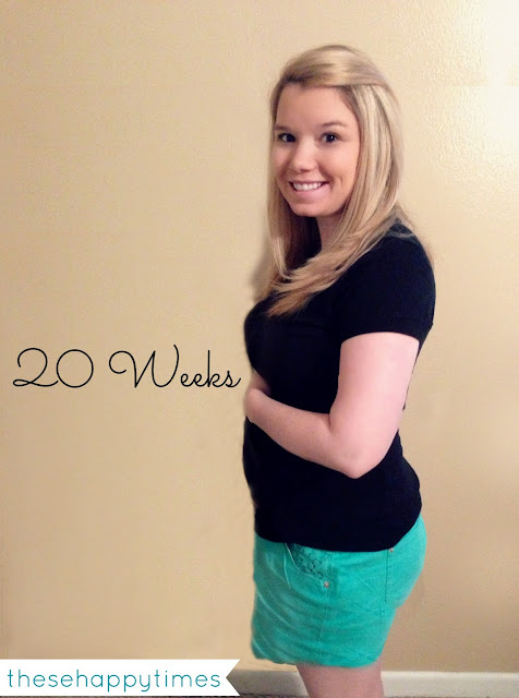 These Happy Times: The Bump: 20 Weeks