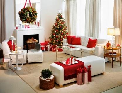 Decorar el living de tu casa para Navidad