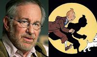 Steven Spielberg y Tintín