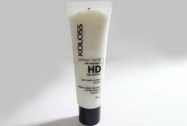 Primer Facial HD da Koloss
