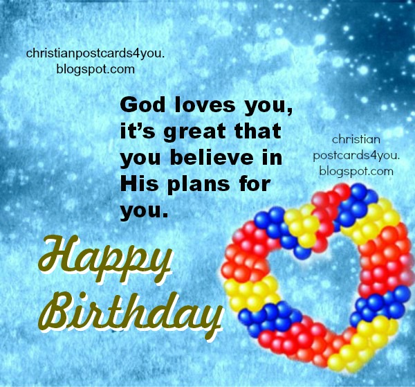 Christian Birthday Card Messages gangcraftnet – Religious Birthday Card Messages