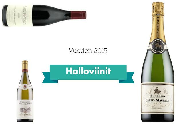 Halloviinit 2015 - www.blancdeblancs.fi