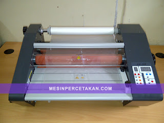 Mesin laminating desktop 1 sisi
