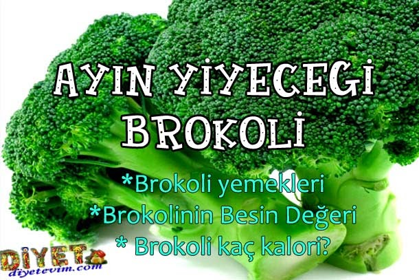 brokoli kaç kalori
