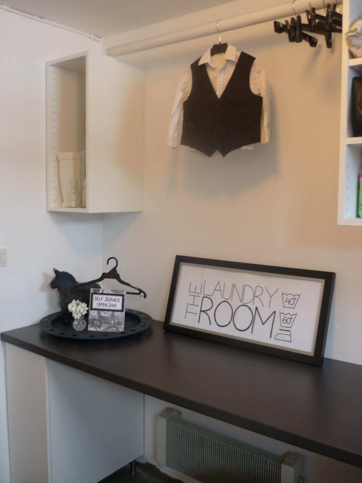 Ljuva hem: lite piff för tvättstugan