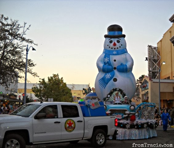 Snowman Balloon Float