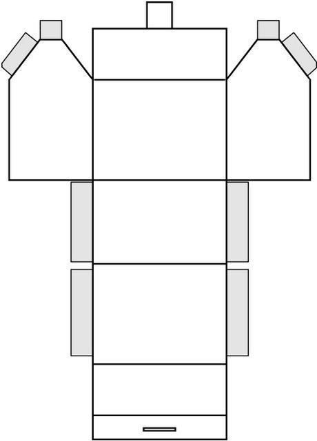 recursos casitas montables de papel la eduteca