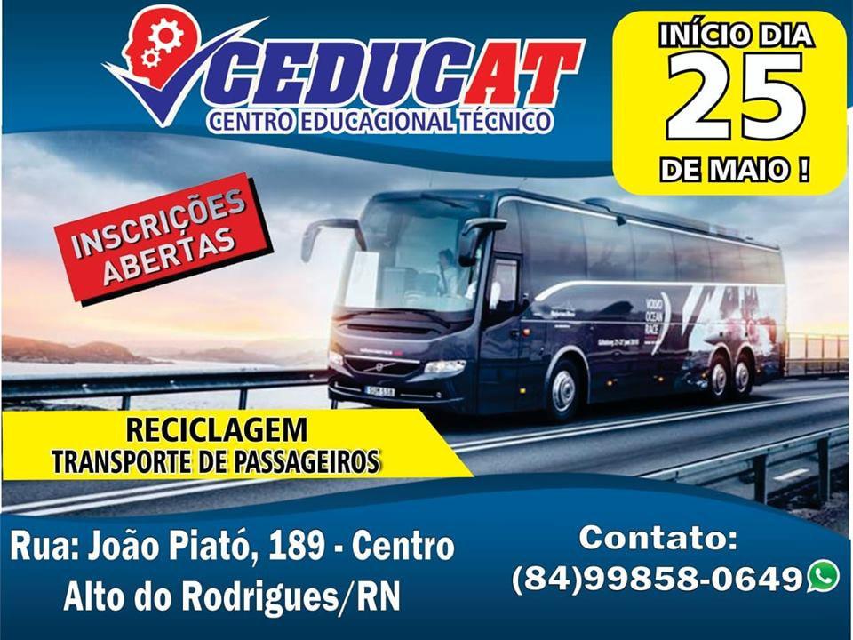 Curso Transporte de Passageiros na CEDUCAT