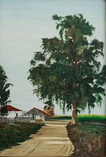 Pintura de António Fagulha - Quinta de Miranda