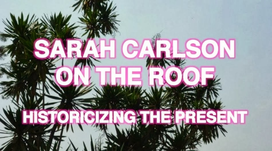 Sarah Carlson on the Roof