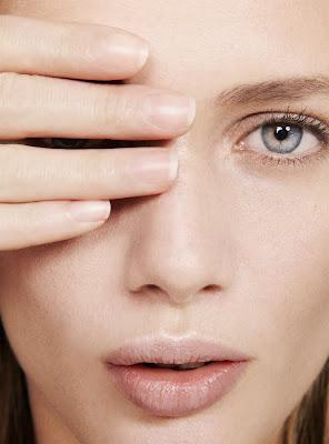 photographe beauté paris, clean skin, woman with no makeup, beauty photography