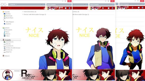 [Theme Win 7] Re:␣Hamatora – Nice by Eldiaz7 3