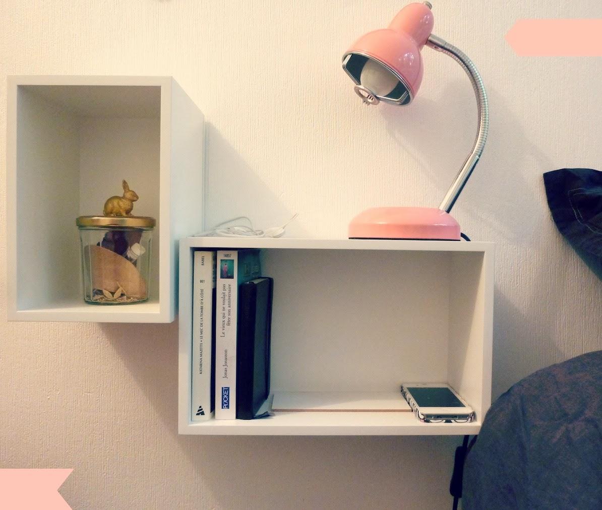 mon petit chevet suspendu valy 39 s blog. Black Bedroom Furniture Sets. Home Design Ideas