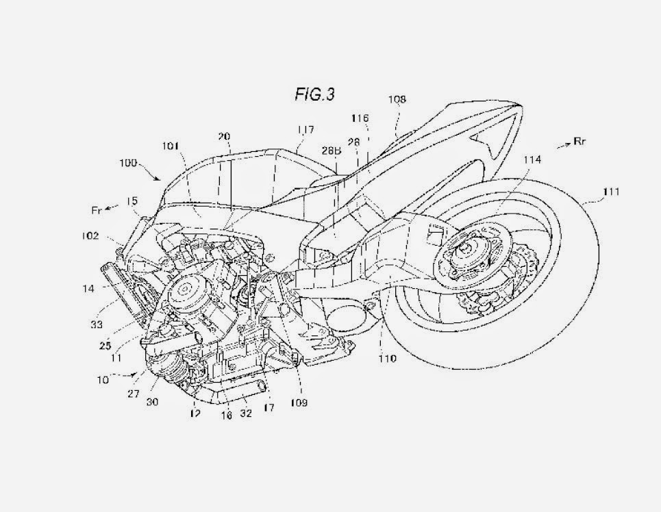 New Suzuki Turbocharger Patent