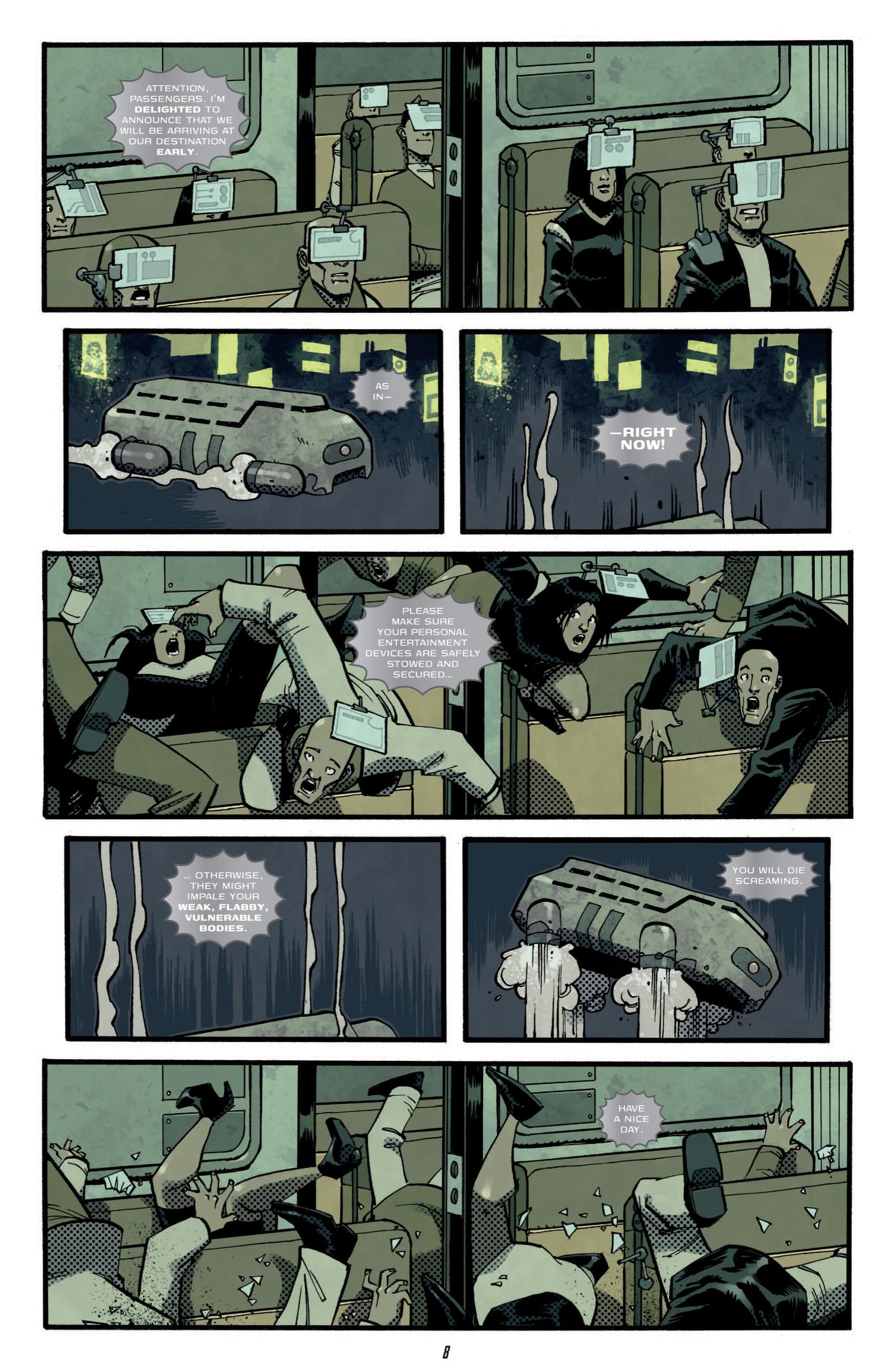 Read online Judge Dredd (2012) comic -  Issue #5 - 10