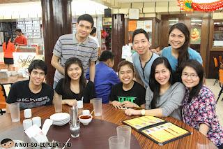 Renz Cheng with Justin Coden, Mae Larin, Jd Castillo, Kim Taruc, Jasmine Morales, Cz Santos and Joan Dujali
