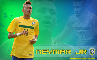 Sports Super Stars: Neymar Da Silva Wallpaper Images 2012