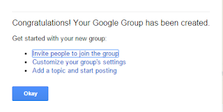 Google Group As Forum