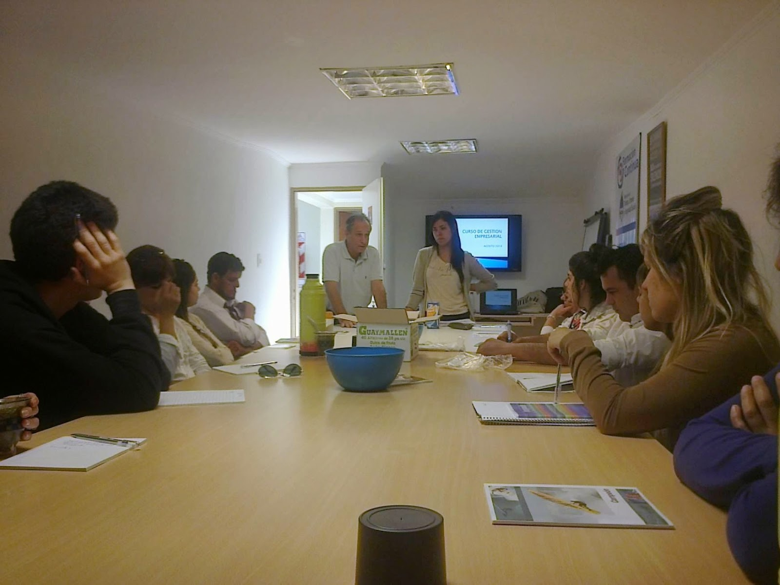 La oficina municipal de empleo comenz el curso para que for Oficina de empleo cursos