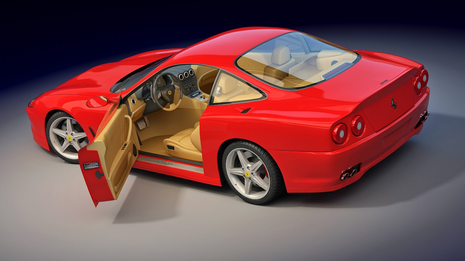 red car wallpaper free download