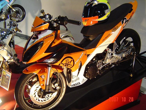 Modifikasi Jupiter Mx Baru 2012