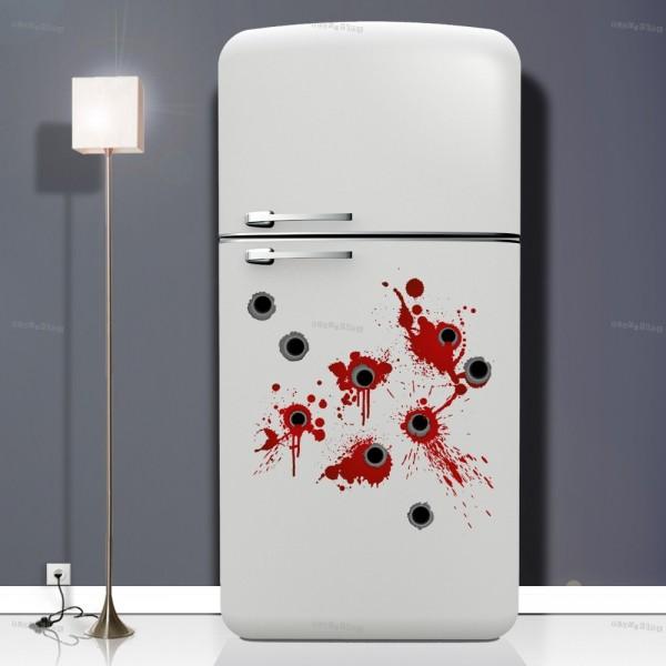 Come decorare le pareti della cucina e non solo - Decorare frigorifero ...