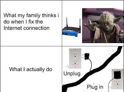 comic when I fix the Internet connection