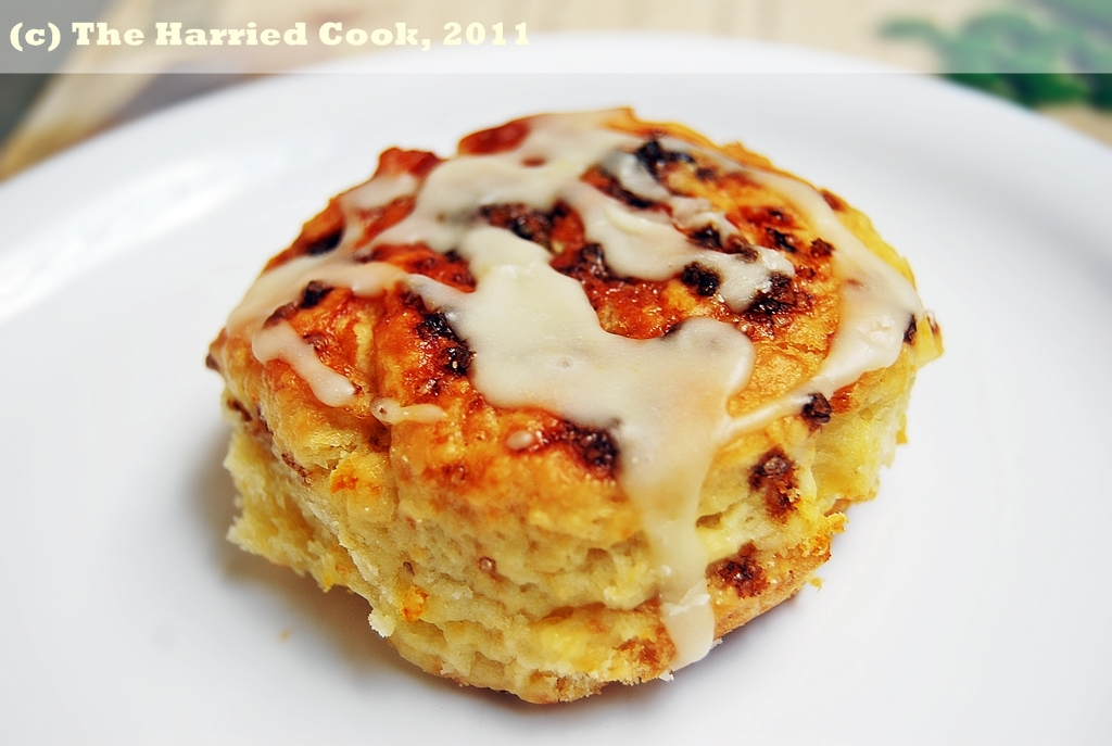 The Harried Cook: Cranberry Orange Scones