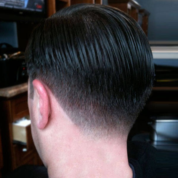 Pictures Gallery of taper hair cut