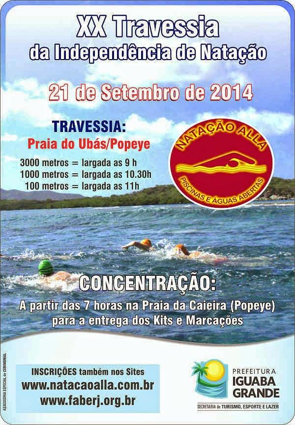 XX Travessia da Independência será neste domingo em Iguaba Grande