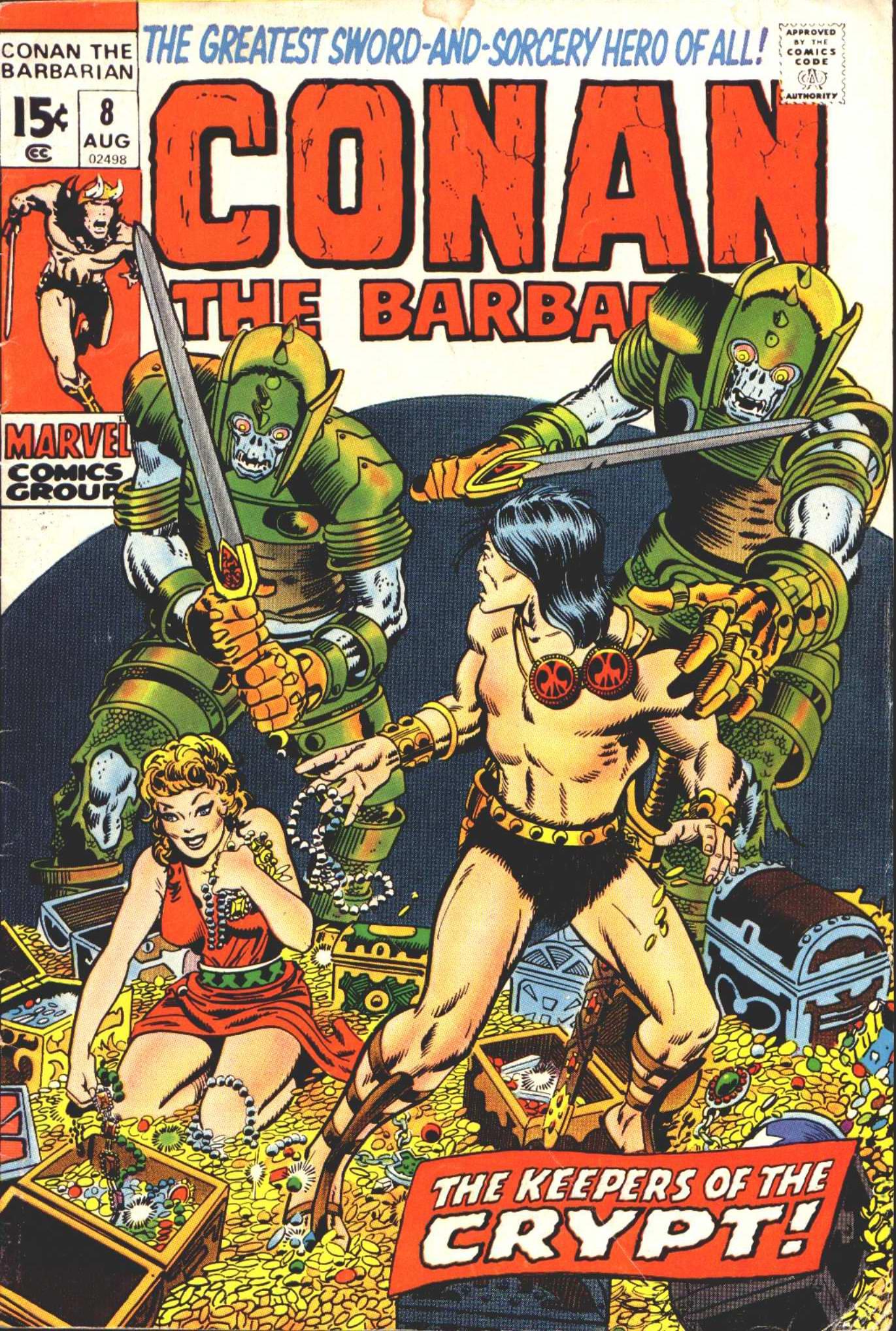 Conan the Barbarian (1970) 8 Page 1