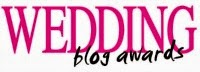 Nominated as Best International Wedding Blogger