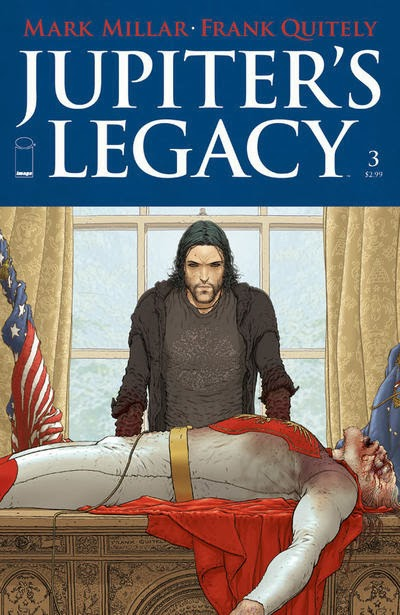 Jupiter's Legacy # 3 - Mark Millar Frank Quitely