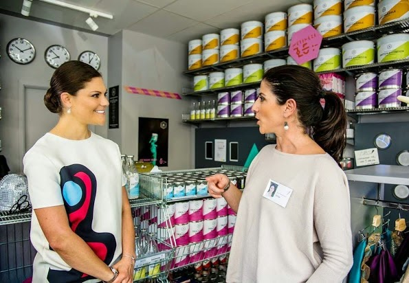 Princess Victoria Attends Opening Of The Writing Workshop