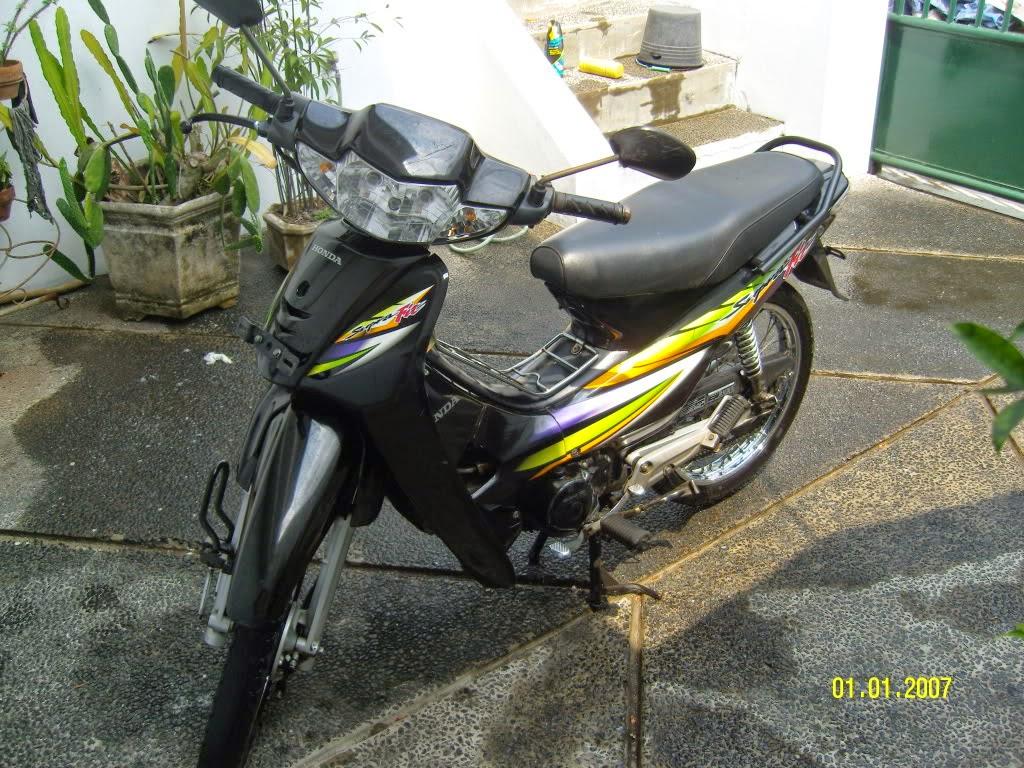 Modifikasi Motor Honda Supra Fit