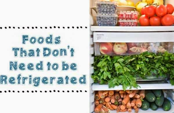 Fresh foods that you can store at room temperature