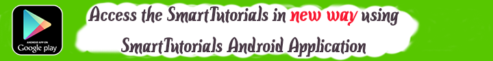 SmartTutorials Android Application