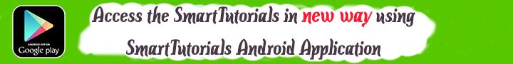 SmartTutorials Android Application