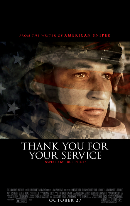 Thank You for Your Service (2017) 720p y 1080p WEBRip mkv Dual Audio AC3 5.1 ch