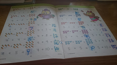 Workbook Addition Grade 1