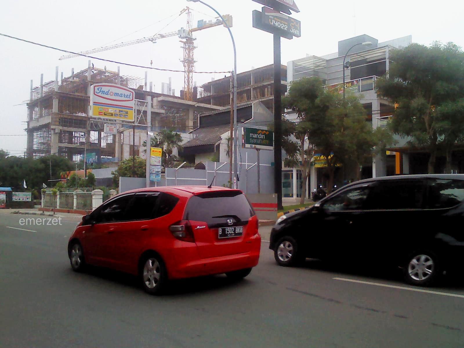 Pembangunan Luxton Hotel-Kota Cirebon, 15 Februari 2014