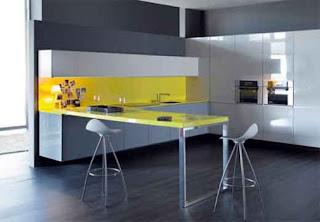 unusual shape kitchen cabinets