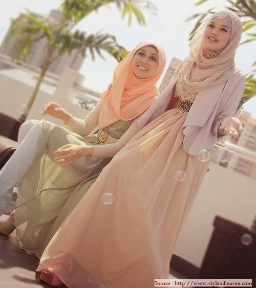 Hijab style abaya 2014