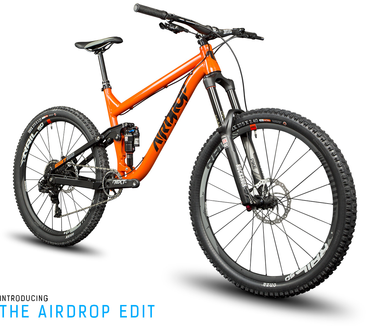 New Bike Airdrop Edit Enduro Bike Arm Crank
