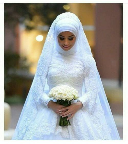 Hijab robe de mariée chic  Hijab Chic turque style and Fashion