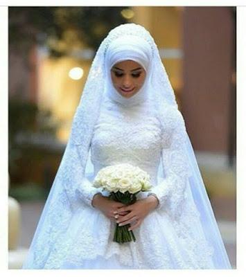 Robe de mariee hijab chic